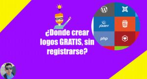 Crear Logo Para Pagina Web Gratis y sin Registro